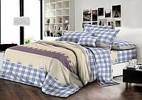 Комплект постельного белья семейный ранфорс 100% хлопок. (арт.7433)