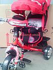 Детский трехколесный велосипед Crosser One T-1 красный, фото 5