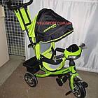 Детский трехколесный велосипед Crosser One T-1 зеленый, фото 2