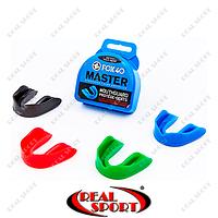 Капа для бокса односторонняя (одночелюстная) в футляре BO-325917 FOX 40 Master