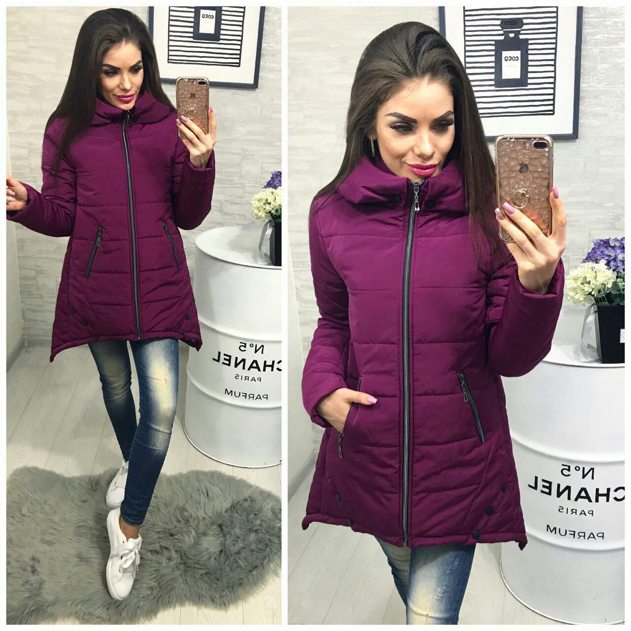 Куртка Зима, модель 305, цвет - марсала
