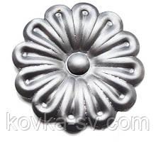 Кованый цветок 73х1,2 мм