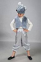 Детский карнавальный костюм Мышь атлас, фото 1