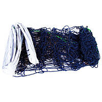 Сетка волейбольная узловая с тросом D=3.8mm, ячейка: 14*14cm