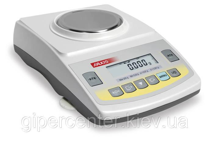 Весы лабораторные Axis ADG 300C до 300 г, дискретность 0,001 г, фото 2