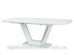Стол ARMANI белый 160(220)X90
