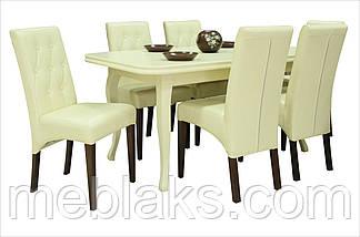 """Стол для кухни деревянный раскладной """"Премьер"""" 160(+40)х90х76 см  Fusion Furniture, фото 2"""