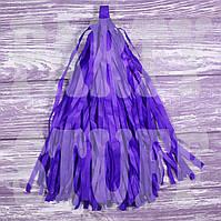Гирлянды тассел лиловые, 35 см, 5 шт