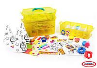 Набор для творчества PLAY-DOH- Мегамастерская (маркеры, восковые карандаши, масса для лепки, аксес.)