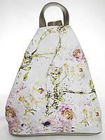 Рюкзак треугольный SM077-14 цветущие розы