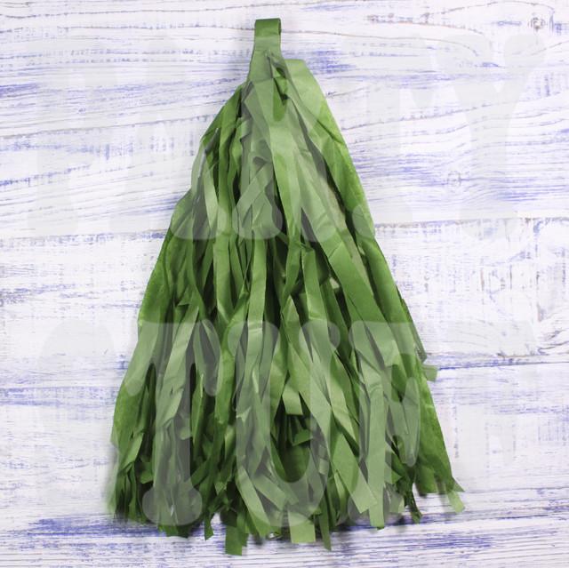 кисточки тассел оливковые