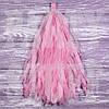 Гирлянды тассел светло-розовые, 35 см, 5 шт