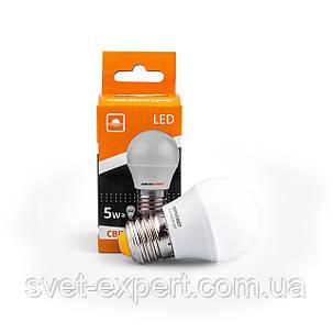 Светодиодная лампа Евросвет Р-5-3000-27 5W 3000K E27 220V , фото 2