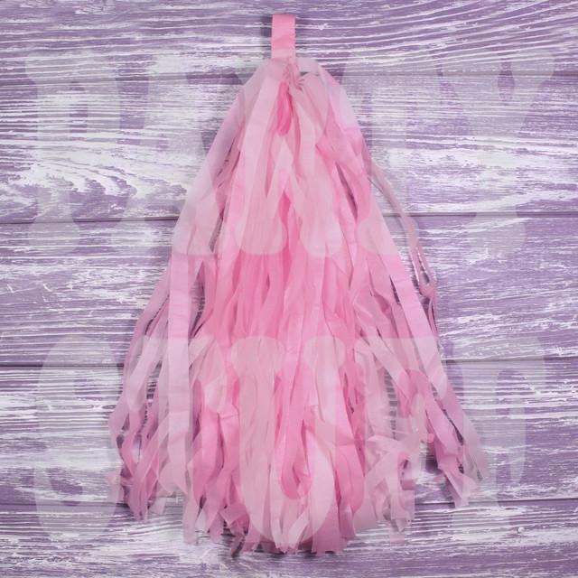 кисточки тассел светло-розовые