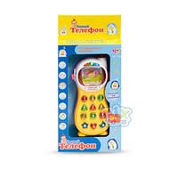 Телефон развивающая обучающая игрушка