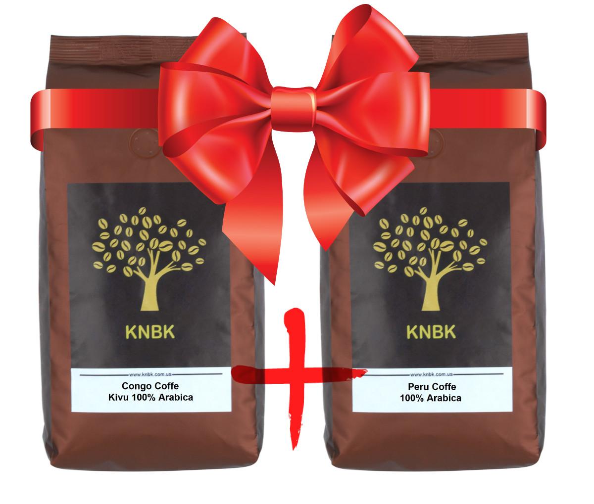 "Эко набор ""Organic Coffe"" ( Peru + Congo Kivu)"