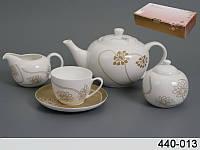 Чайный сервиз Lefard Лотос 15 предметов, 440-013