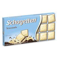 Шоколад молочный SCHOGETTEN STRACCIATELLA с какао бобами 100г (1/15)