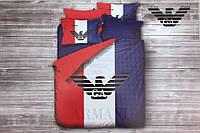 Двуспальное постельное белье хлопок (бренд) Armani