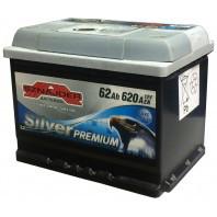 Аккумулятор автомобильный Sznajder Silver Premium 62AH R+ 620А (56235)
