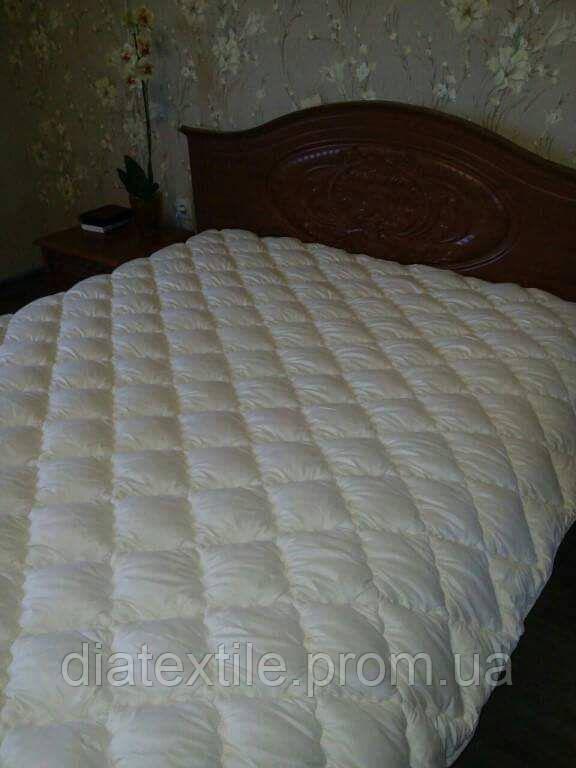 Одеяло шерстяное двуспальное размер 180х210