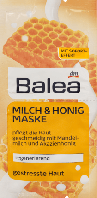 Питательная маска для лица Balea Milch & Honig Maske, 2st. х 8 ml.