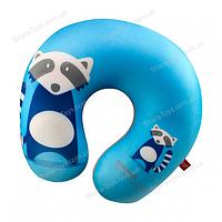"Антистрессовая игрушка- подушка  ""Енот голубой"""