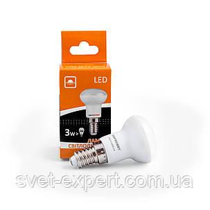 Светодиодная лампа Евросвет R39-3-4200-14 3W 4200K E14 220V , фото 2