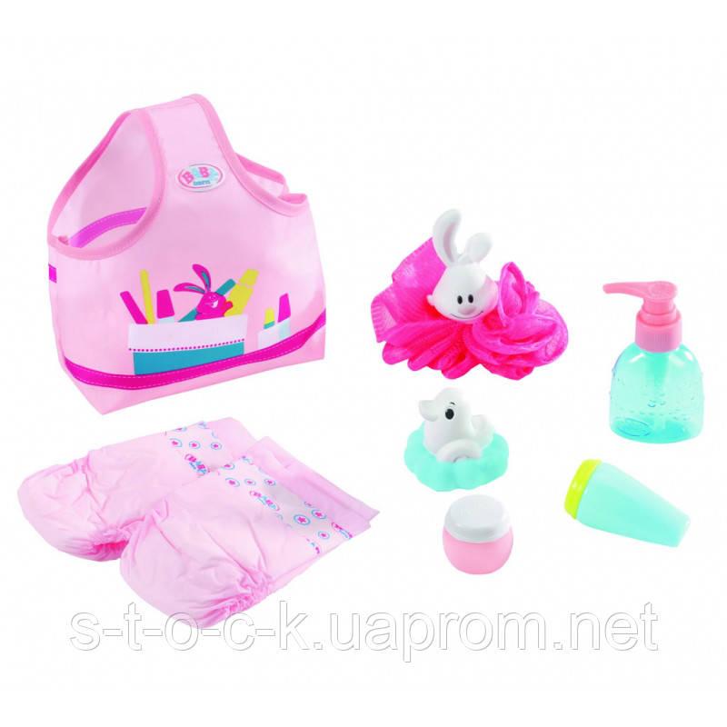 Сумка с аксессуарами для куклы Baby Born 823606 Zapf