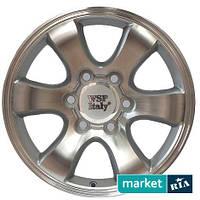 Литые легкосплавные диски WSP Italy W1707 Yokohama Prado Silver Polished (R17 W7.5 PCD6x139.7 ET30 DIA106.1)