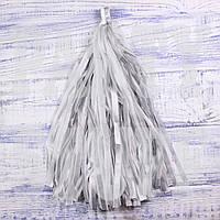 Гирлянды тассел серебристые, 35 см, 5 шт