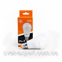 Светодиодная лампа Евросвет A-15-4200-27 15W 4200K E27 220V, фото 3