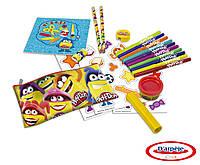 Набор для творчества PLAY-DOH - Рюкзак на колеса (маркеры, карандаши, масса для лепки, аксес.)