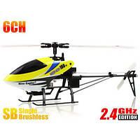Вертолет Nine Eagles Solo PRO 180 3D 360мм электро бесколлекторный 2.4ГГц жёлтый RTF