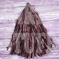 Гирлянды тассел пудровые, 35 см, 5 шт