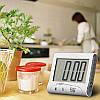 Таймер Кухонный D016 - Универсальный Таймер для кухни (Черный), фото 8