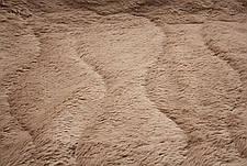 Капучино меховое плед-покрывало с длинным ворсом 150*200, фото 3