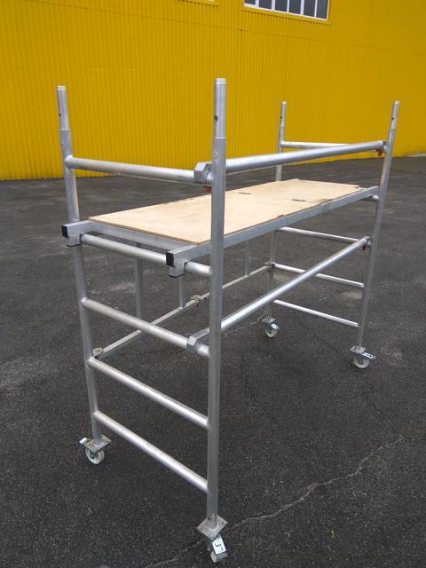 Передвижные подмости алюминиевые (мини-подмости, вышки-туры)