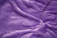 Сиреневый меховое плед-покрывало с длинным ворсом 150*200, фото 2