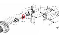 Обойма 225.66.00.00.009 переднего моста ГС-14.02 для Автогрейдера
