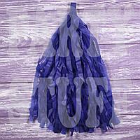 Гирлянды тассел темно-синие, 35 см, 5 шт