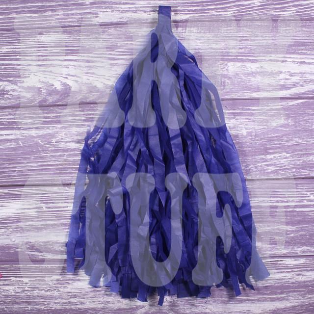 кисточки тассел темно-синие