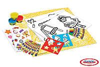 Набор для творчества PLAY-DOH - Ведро (восковые карандаши, маркеры, масса для лепки, аксес.)
