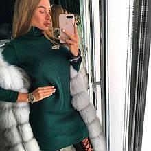 "Зеленое вязаное мини платье ТМ Doratti ""Lola"""