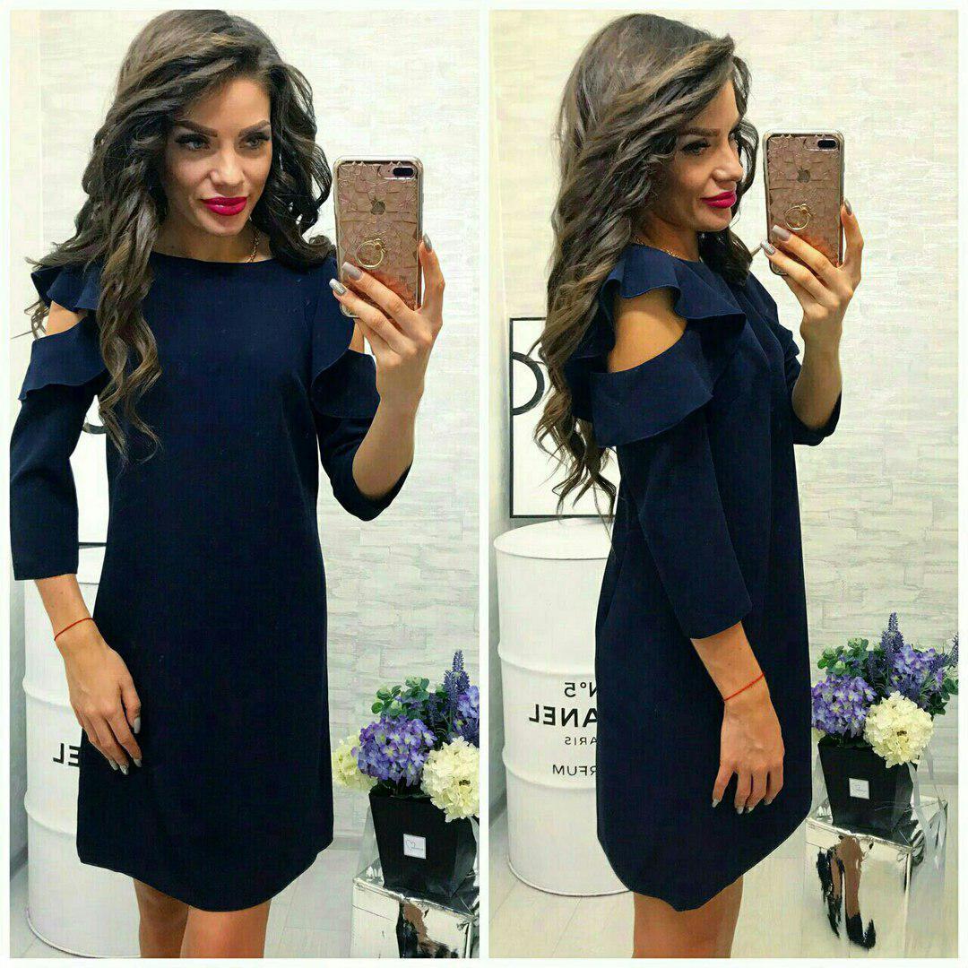 Сукня, модель 783/2, колір - темно синій
