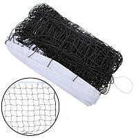 Сетка волейбольная узловая с тросом D=3mm, ячейка: 12*12cm