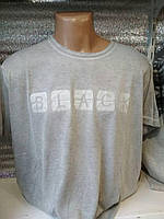 Футболка мужская /варенка-марлевка/ Black (цвет светло-серый) Турция оптом со склада