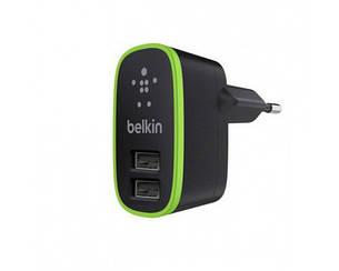 Зарядка-адаптер 220v на 2 USB BELKIN