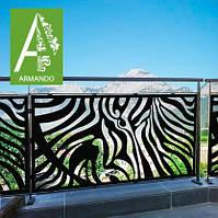Декоративная балконная решетка Армандо