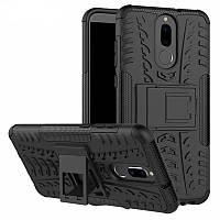 Чехол Huawei Mate 10 Lite / Nova 2i / Honor 9i / G10 / Maimang 6 противоударный бампер черный